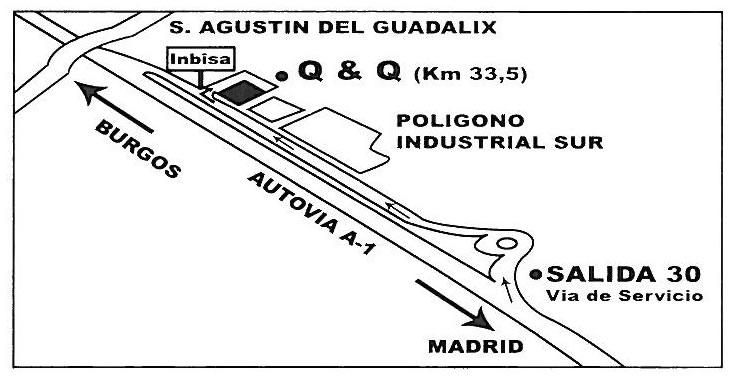 mapa como llagar a Quaintandquality - mayorista objetos decorativos, meubles y lamparas