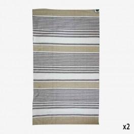 ALFOMBRA ALGODON 120x180 RAYAS F
